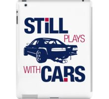 Still plays with cars (6) iPad Case/Skin