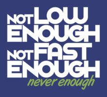 Not low enough, Not fast enough, Never enough (7) by PlanDesigner