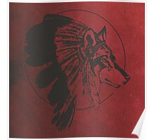 Wolf Warrior Spirit  Poster
