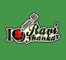 RAVI SHANKAR PANDIT TRIBUTE by labelia