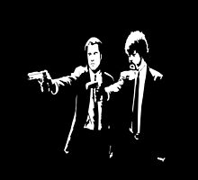 Pulp Fiction Jules & Vincent by Bullis93