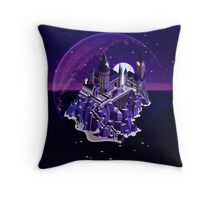 Hogwarts series (year 7: the Deathly Hallows) Throw Pillow