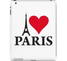 I LOVE PARIS iPad Case/Skin