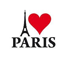 I LOVE PARIS by labelia