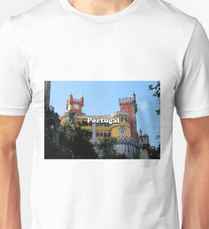 Portugal: Pena Palace, Sintra, near Lisbon, Europe Unisex T-Shirt