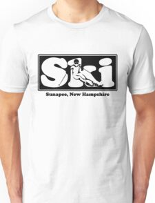 Sunapee, New Hampshire SKI Graphic for Skiing your favorite mountain, city or resort town Unisex T-Shirt