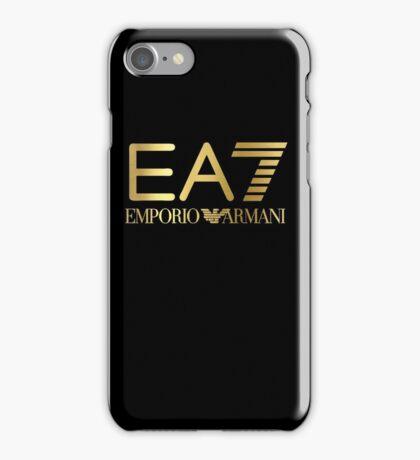 EMPORIO ARMANI GOLD iPhone Case/Skin