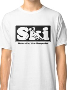 Waterville, New Hampshire SKI Graphic for Skiing your favorite mountain, city or resort town Classic T-Shirt