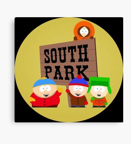South Park Person. Canvas Print