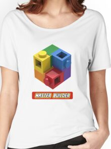 Master Builder Tee for Expert Builders Women's Relaxed Fit T-Shirt