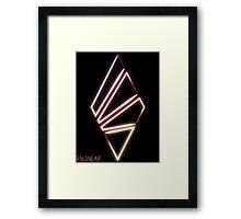 EnjinEar Symbol Framed Print