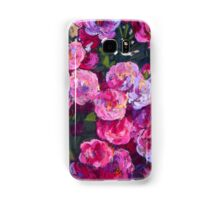 A bush of small pink roses Samsung Galaxy Case/Skin