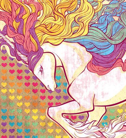 Rampant Rainbow Sticker