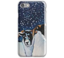 Snowed on Sheep iPhone Case/Skin