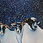 Snowed on Sheep by Emma Cownie