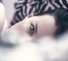 Behind the pillow by whitebeardcz
