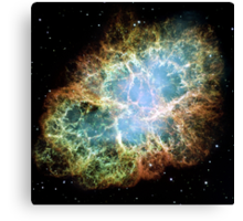 Hubble Picture of the Crab Nebula Canvas Print