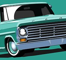 67 Ford F-100 by RNobles