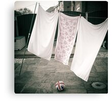 Laundry Day #1 Canvas Print