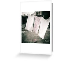 Laundry Day #1 Greeting Card