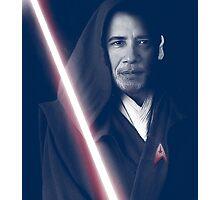 OBAMA Trekkie Jedi Photographic Print