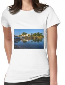 seaside parking Womens Fitted T-Shirt