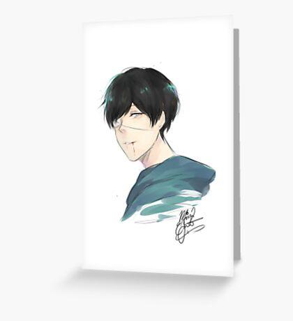 Kaneki Ken (Tokyo Ghoul) Greeting Card