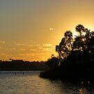 Autumn Sunset by AuntDot