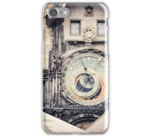 Prague clocks iPhone Case/Skin