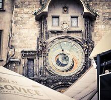 Prague clocks by whitebeardcz