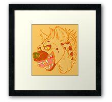 Pumpkin Spice Framed Print