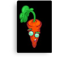 Blind Carrot Canvas Print