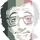 Woody Allen suffering in colors by burrotees