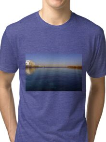out to the deep blue sea Tri-blend T-Shirt