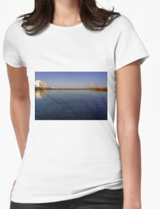 out to the deep blue sea Womens Fitted T-Shirt