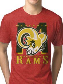 Markarth Golden Rams Tri-blend T-Shirt