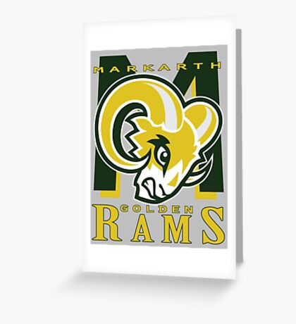 Markarth Golden Rams Greeting Card