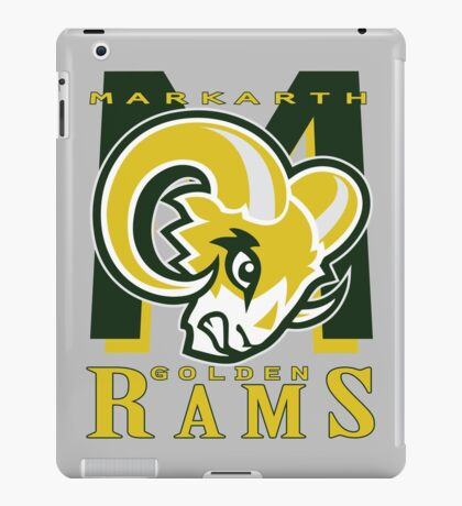 Markarth Golden Rams iPad Case/Skin