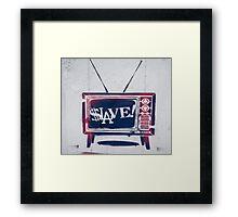 Slave! Framed Print
