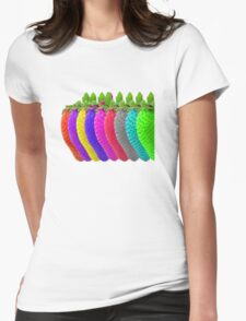 Strawberry Line Womens Fitted T-Shirt
