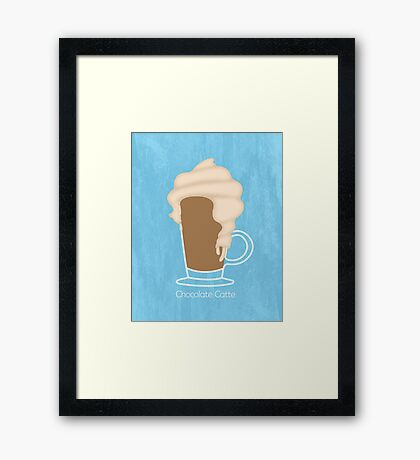 Chocolate Catte Framed Print