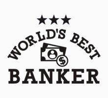 World's best banker Kids Tee