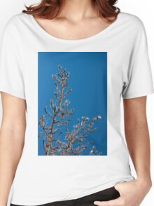 Mother Nature's Christmas Decorations - Ice Jewelry Women's Relaxed Fit T-Shirt