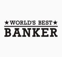 World's best banker One Piece - Short Sleeve