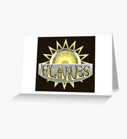 Dawnstar Flares Greeting Card
