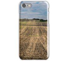 Moravia fields iPhone Case/Skin