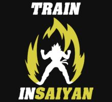 Train Insaiyan by Pickadree