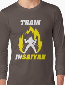 Train Insaiyan Long Sleeve T-Shirt