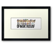 ofwgkta group Framed Print