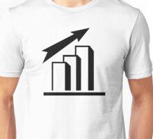 Chart arrow profit Unisex T-Shirt